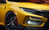Honda Civic Type R limited edition 2020 official press photos - front lights