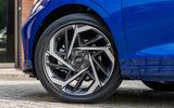 Hyundai i20 2020 prototype drive - alloy wheels