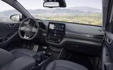 Hyundai Ioniq 2019 facelift official press - cabin