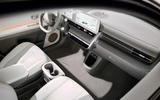 93 Hyundai Ioniq 5 2021 official images interior 3