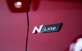 Hyundai Tucson N Line 2019 reveal - side badge