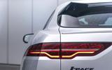Jaguar I-Pace 2021 facelift official images - rear lights