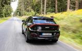 93 Kia EV6 prototype drive 2021 on road rear