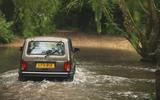 93 Lada Niva EOL feature wading rear
