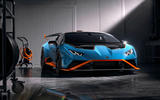 Lamborghini Huracan STO 2020 official images - static front