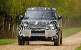 2020 Land Rover Defender prototype ride - on the road nose