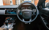 Land Rover Range Rover Evoque 2019 first ride review - cabin