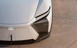 93 Lexus LF Z concept official images front lights