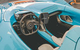 McLaren Elva Goodwood Speedweek reveal - dashboard