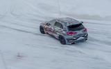 Mercedes-AMG A45 2019 prototype ride - drift rear