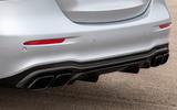 2020 Mercedes-AMG E63 facelift - saloon exhausts