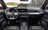 Mercedes-AMG GLB 35 2019 official press images - dashboard