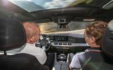 Mercedes-AMG GLE 53 prototype ride - Greg Kable passenger