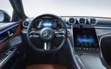 93 Mercedes Benz C Class 2021 official images dashboard