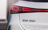 93 Mercedes Benz EQA official images rear lights