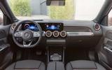 93 Mercedes Benz EQB 2021 official images dashboard
