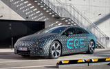 93 Mercedes Benz EQS prototype ride 2021 static