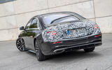 2020 Mercedes-Benz S-Class prototype ride - static