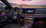 Mercedes-Benz E-Class 2020 prototype ride - cabin