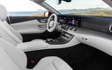 Mercedes-Benz E-Class cabriolet 2020 facelift - official images - interior