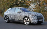 93 Mercedes EQE SUV spies Oct 2021 side