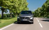 Mercedes-Benz GLA 250e 2020 prototype drive - tracking nose