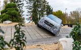 Mercedes-Benz GLA prototype ride 2019 - breakover