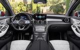 Mercedes GLC Coupe 2019 press - dashboard