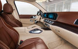 Mercedes-Maybach GLS 600 official press images - cabin