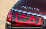Mercedes-Maybach GLS 600 official press images - rear badge