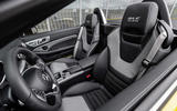 Mercedes-Benz SLC final edition official press - cabin