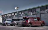Mini John Cooper Works GP 2020 prototype official images - static rear