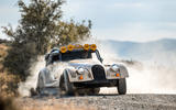 93 Morgan Plus Four CX T official reveal oversteer