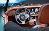 Morgan Plus Six 2019 official press images - steering wheel
