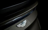 Aston Martin On Her Majesty's Secret Service Superleggera - rear badge