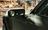 Porsche 911 Cyberpunk 2077 tie-in - wing mirrors rear