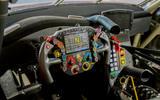 Porsche 911 RSR-19 drive - steering wheel