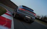 93 Porsche Cayenne GT 2021 official reveal cornering rear