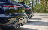 93 Porsche Macan GTS 2021 prototype drive exhausts