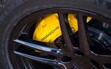 Porsche Macan prototype 2018 brakes