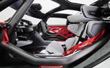 93 Porsche Mission R concept feature seat