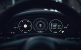 93 Porsche Taycan Cross Turismo prototype drive instruments