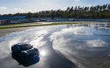 Porsche Taycan breaks electric drift record - official images