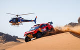 93 Prodrive BRX Dakar rally helicoptor