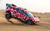Prodrive BRX T1 in the desert - jump