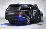 Land Rover Range Rover Sentinel official press images - static rear