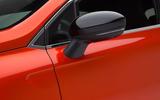 Renault Clio 2019 Autocar studio static - wing mirrors