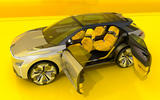 Renault Morphoz concept official studio images - doors open