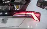 Skoda Vision RS concept drive - rear lights