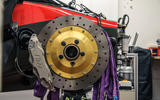 Waking the Toyota GT-One - brake disc